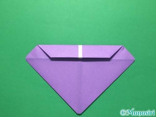 折り紙で盾の折り方手順9