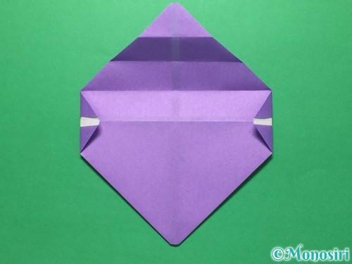 折り紙で盾の折り方手順12