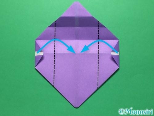 折り紙で盾の折り方手順13