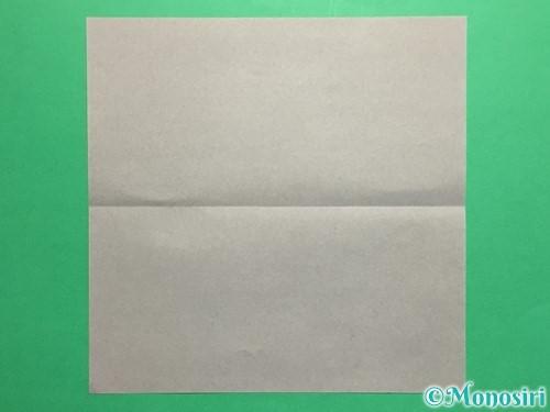 折り紙で剣の折り方手順2