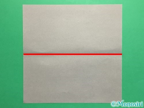 折り紙で剣の折り方手順3