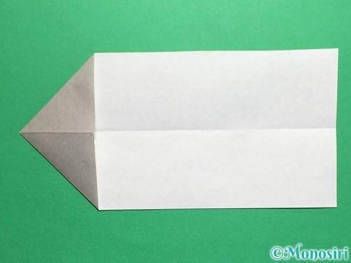 折り紙で剣の折り方手順8