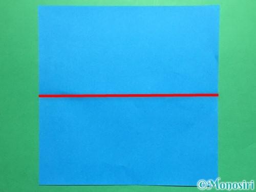 折り紙で剣の折り方手順16