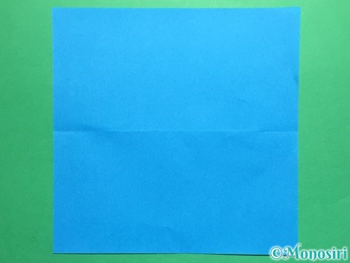 折り紙で剣の折り方手順15