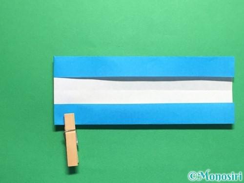 折り紙で剣の折り方手順37
