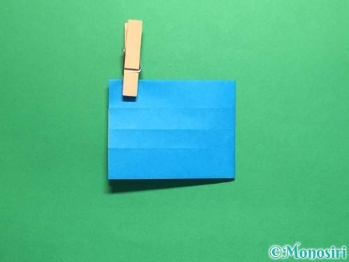 折り紙で剣の折り方手順39