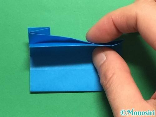 折り紙で剣の折り方手順41