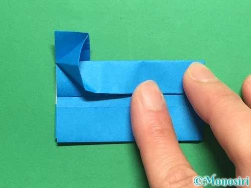 折り紙で剣の折り方手順43