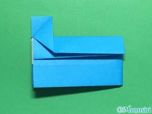 折り紙で剣の折り方手順44