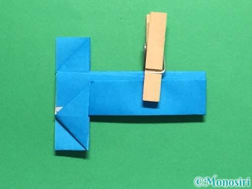 折り紙で剣の折り方手順45