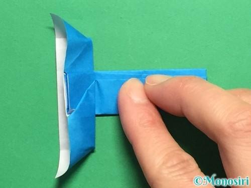 折り紙で剣の折り方手順48