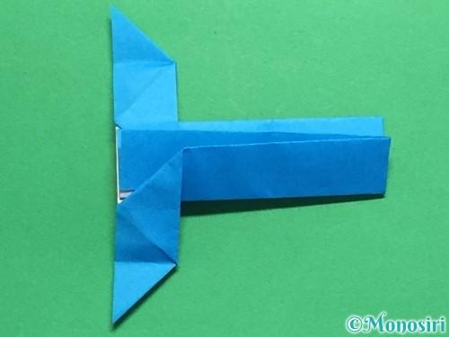 折り紙で剣の折り方手順49