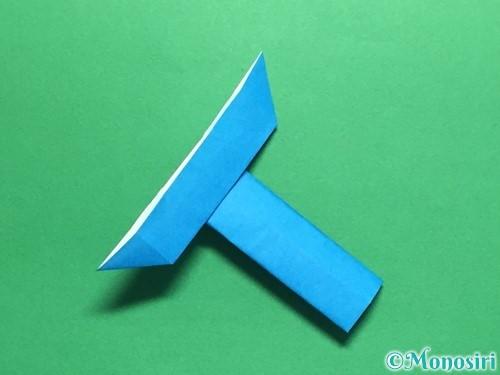 折り紙で剣の折り方手順50