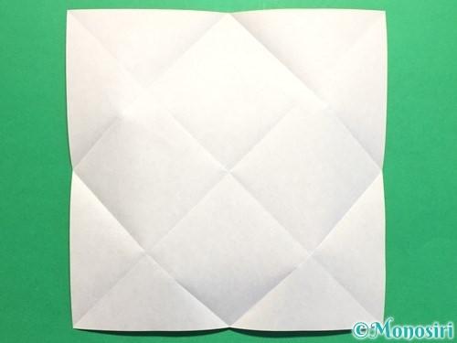 折り紙でハートの封筒の折り方手順4