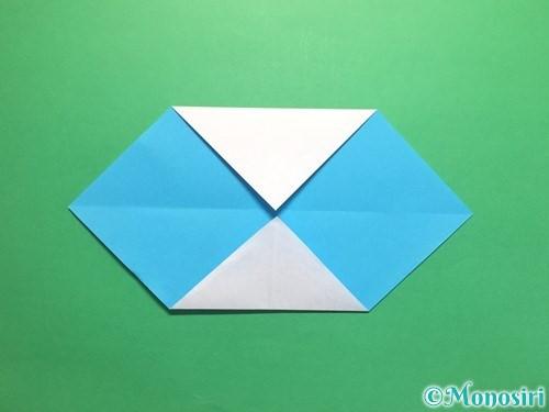 折り紙でハートネクタイの折り方手順4