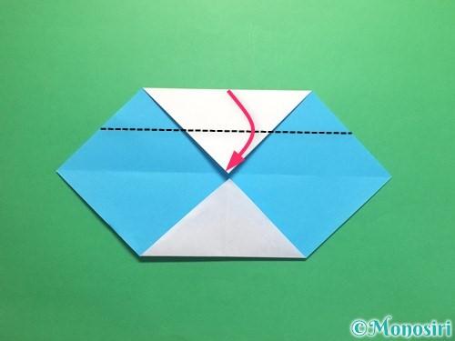 折り紙でハートネクタイの折り方手順5