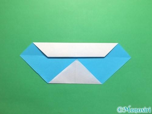 折り紙でハートネクタイの折り方手順6