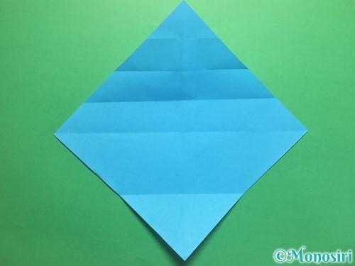 折り紙でハートネクタイの折り方手順7