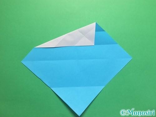 折り紙でハートネクタイの折り方手順9