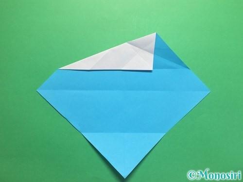 折り紙でハートネクタイの折り方手順11