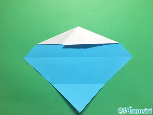 折り紙でハートネクタイの折り方手順14