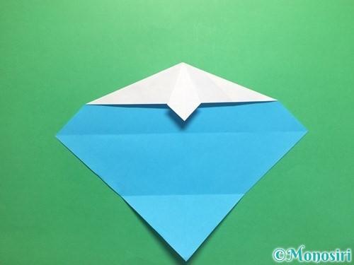 折り紙でハートネクタイの折り方手順20
