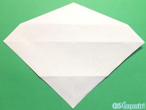 折り紙でハートネクタイの折り方手順21