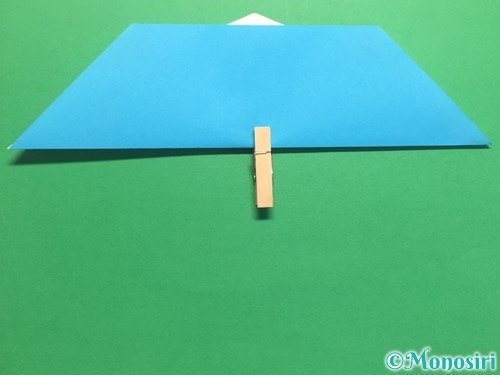 折り紙でハートネクタイの折り方手順25