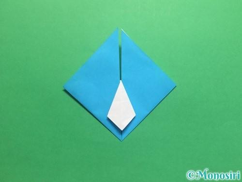 折り紙でハートネクタイの折り方手順30