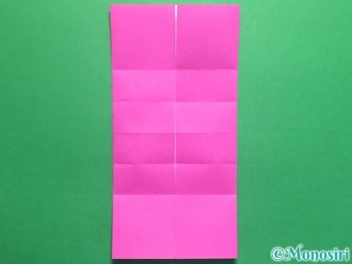 折り紙で立体的なハートの折り方手順10