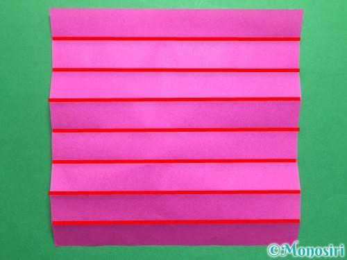 折り紙でハートのこんぺいとうの作り方手順8