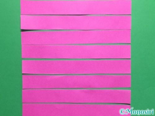 折り紙でハートのこんぺいとうの作り方手順9