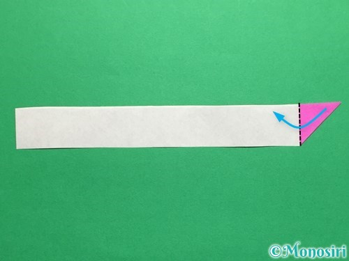 折り紙でハートのこんぺいとうの作り方手順12