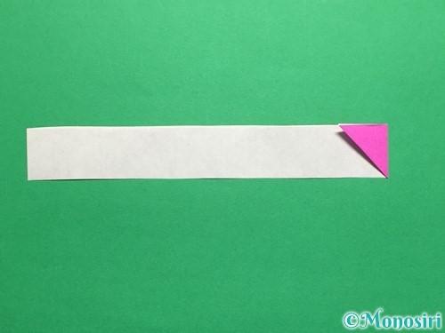 折り紙でハートのこんぺいとうの作り方手順13