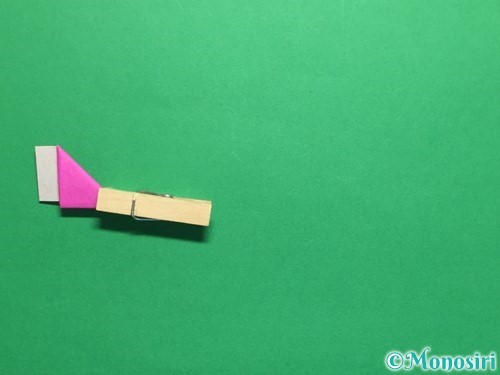 折り紙でハートのこんぺいとうの作り方手順16