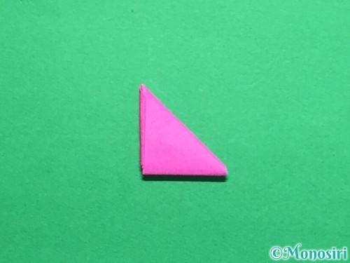 折り紙でハートのこんぺいとうの作り方手順21