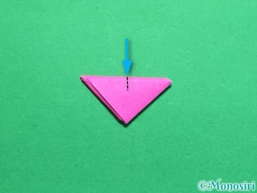 折り紙でハートのこんぺいとうの作り方手順22
