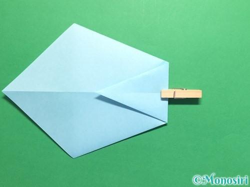 折り紙でネクタイの折り方手順7