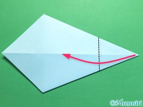 折り紙でネクタイの折り方手順6