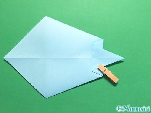 折り紙でネクタイの折り方手順9
