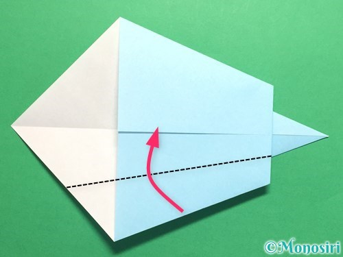 折り紙でネクタイの折り方手順11