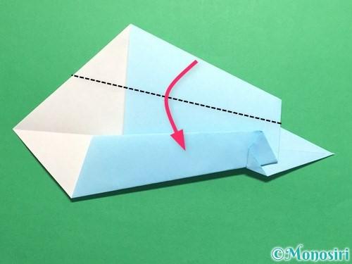 折り紙でネクタイの折り方手順13