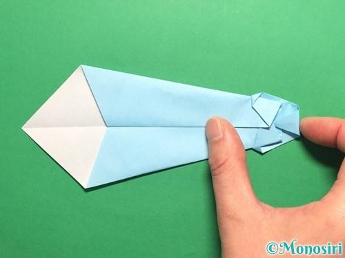折り紙でネクタイの折り方手順16