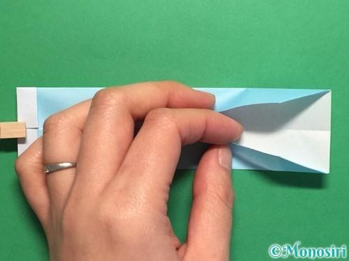 折り紙でポロシャツの折り方手順15