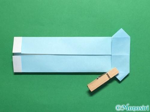 折り紙でポロシャツの折り方手順18