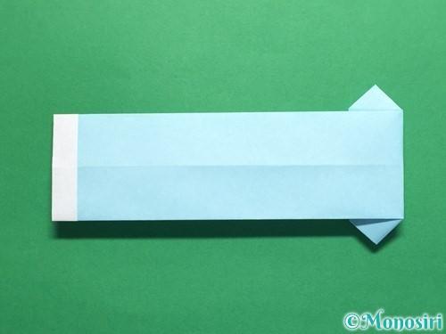 折り紙でポロシャツの折り方手順19