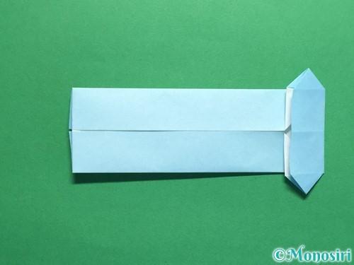 折り紙でポロシャツの折り方手順22