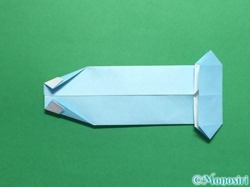 折り紙でポロシャツの折り方手順24