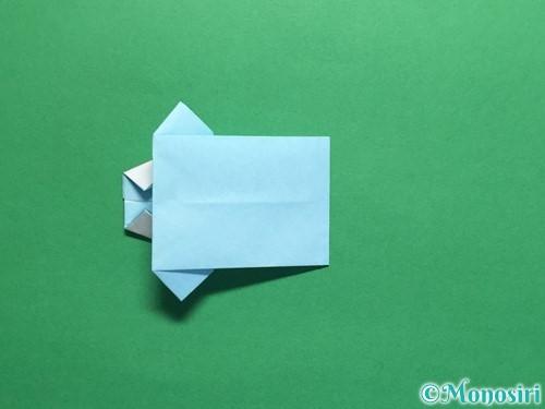 折り紙でポロシャツの折り方手順26