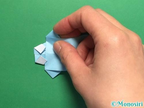 折り紙でポロシャツの折り方手順27